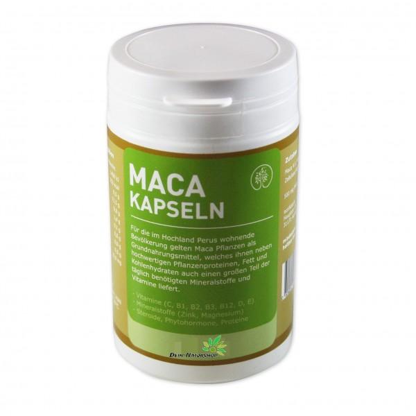 Maca Kapseln 500 mg aus Peru