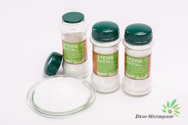 Stevia Kristallklar im praktischen 70g Streuer