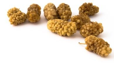 Weiße Maulbeeren